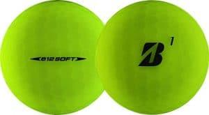 Bridgestone e12 golf balls