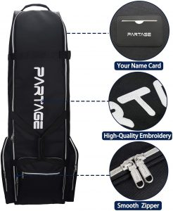 Partage, Best Golf Travel Bags for Airlines